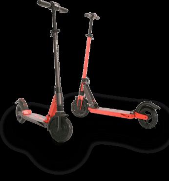 Zoom e-Scooter, schnell und fun