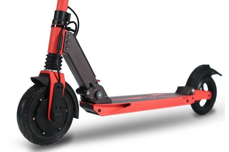 Zoom Stryder EX Elektro-Scooter Seitenansicht
