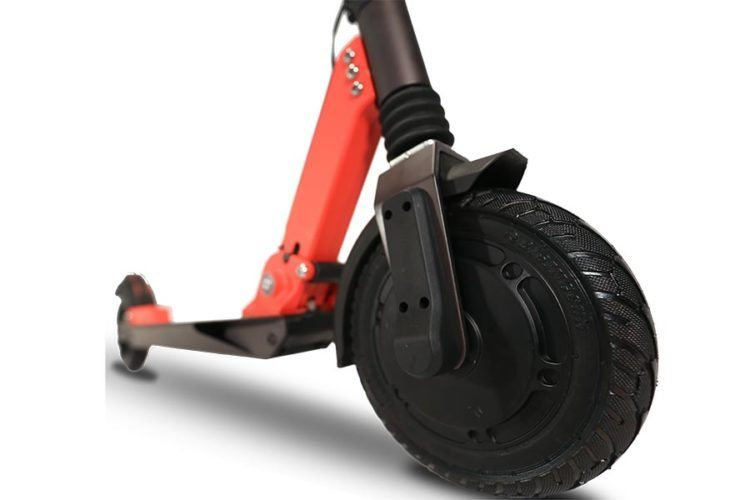 Zoom Stryder EX electric scooter front view