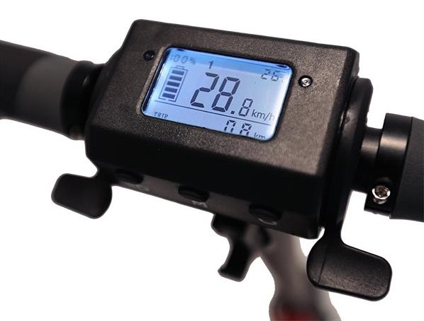 Zoom Stryder EX electric scooter display