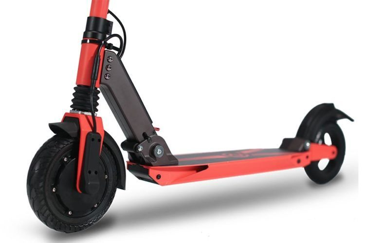 Zoom Stryder EX electric scooter side view
