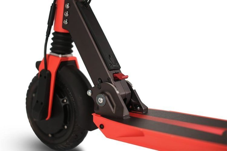Zoom Stryder EX electric scooter folding lever