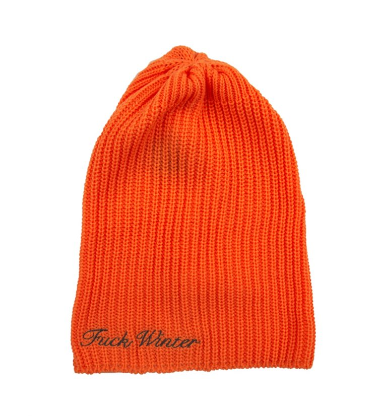 Large Beanie Orange