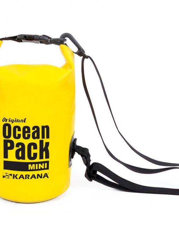 Ocean Pack Trockentasche von Karana, Vorderansicht 2, 2 Liter, Gelb