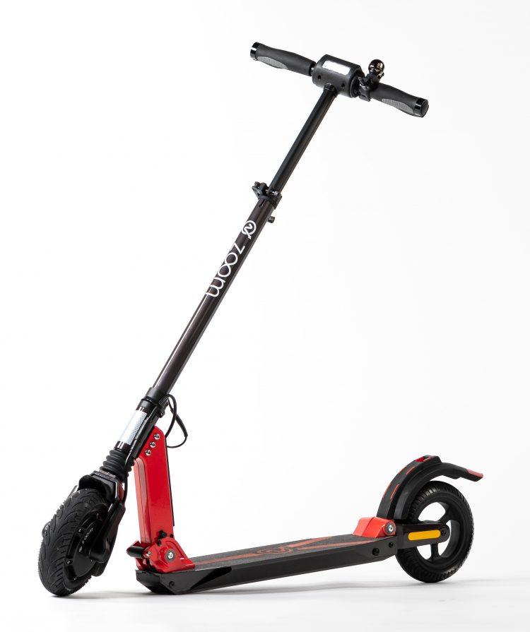 Zoom Stryder EX e-Scooter schwarz Vorderansicht